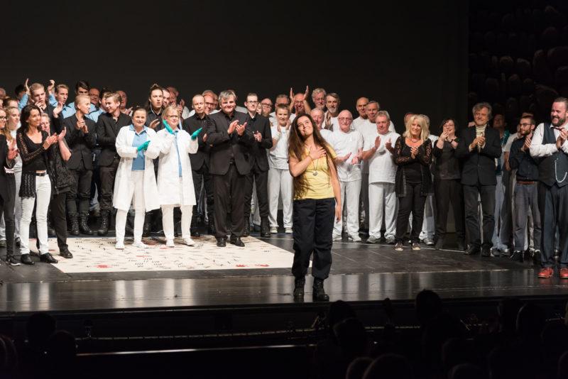 Stadt Biberach Kulturamt: Premiere Fidelio Oper von Ludwig van Beethoven, Stadthalle Biberach 23. September 2017. Foto: Michael Kettel